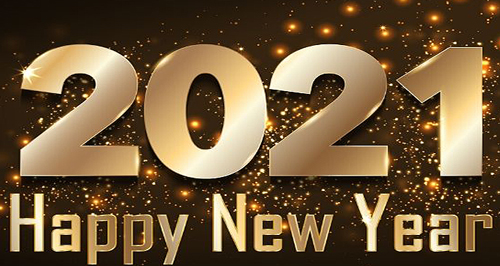 happy new year from Golden Key Ministry - Unity