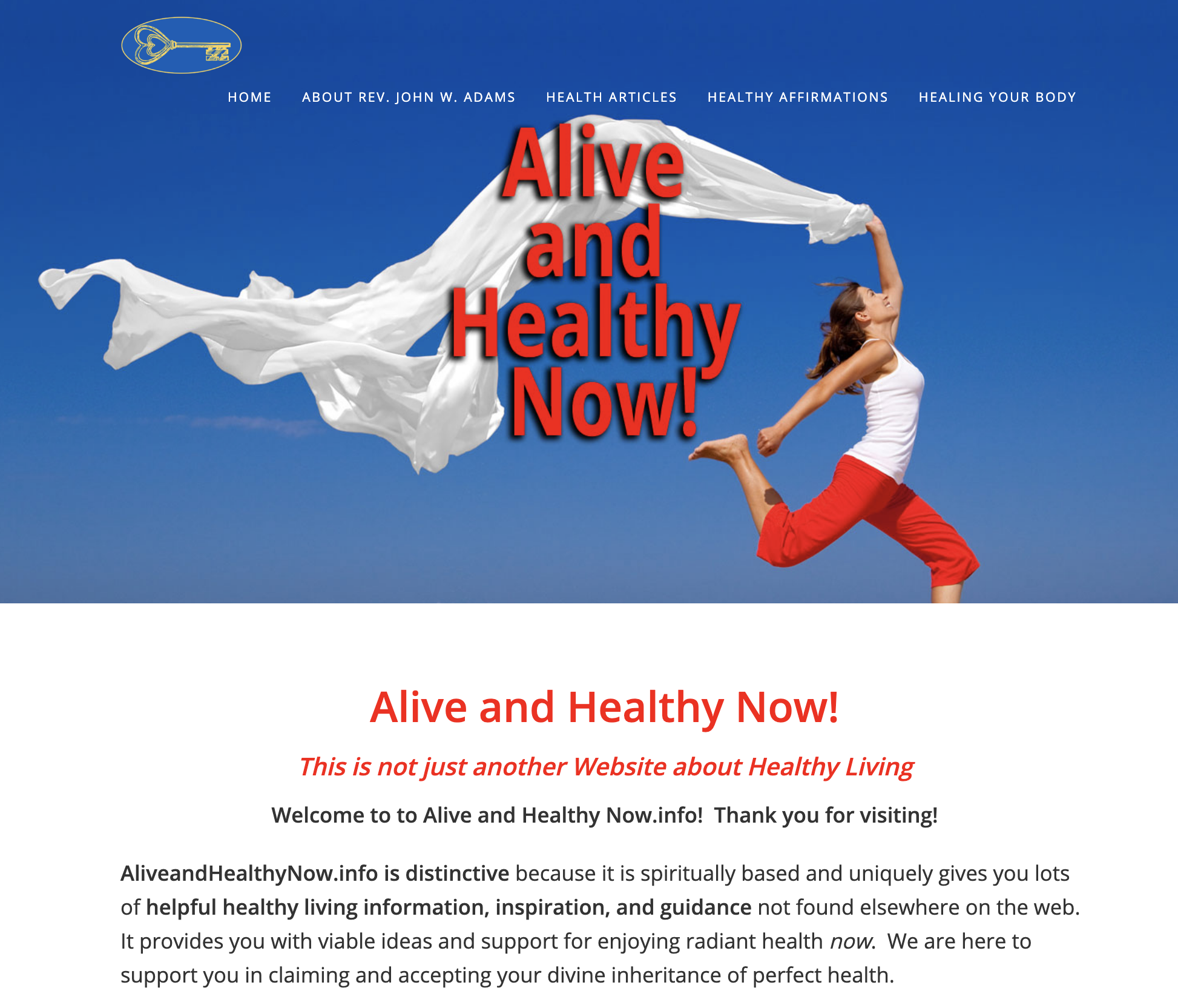 ALIVE & HEALTHY NOW